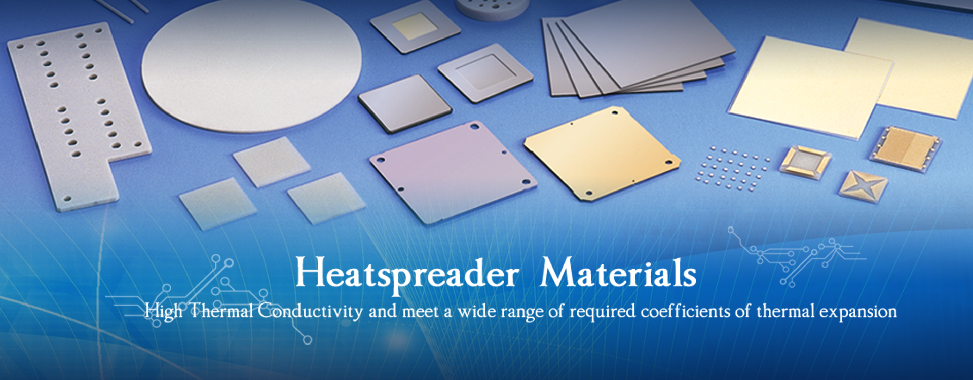 Electronic materials supplier